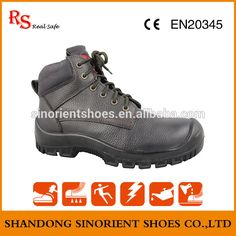"""Zapatos De Seguridad industrial safety boots ,Anti-puncture steel toe cap safety shoes ,PU injection basic safety shoes SNB113A"""
