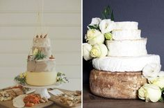 Non-cake cakes! Literal cheese cake and biscuits. Instead of candy buffet dessert selection
