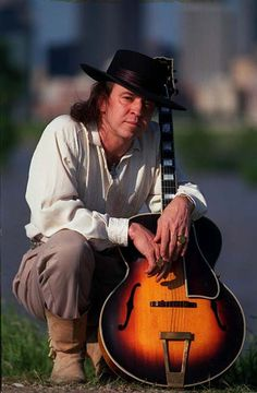 RIP Stevie Ray Vaughan -  guitarist, singer, songwriter and record producer. Often referred to by his initials SRV, Vaughan is best known as a founding member and leader of Double Trouble. Born in Dallas