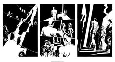 Ink narrative artwork by comic artist James Ng. Commissioned for a graphic novel trilogy inspired by the dangerous underworld of Hong Kong. Pencil Illustration, Underworld, Comic Artist, Figurative Art, Illustrators, Novels, Ink, Comics, Drawings