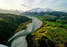 Photo: @ChrisBurkard When I saw this river formed by glacial melt in New Zealand it reminded me of similar rivers in Iceland. It's striking to see the similarities between the northern and southern hemispheres as you near each pole. Before drones and planes, all we had was our imagination of these places.