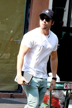 "delevingned:  "" Sebastian Stan out in NYC  """