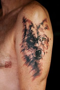 Wolf Brushed - www.tattootemple.hk