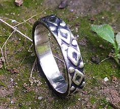 Silver Jewelry, Silver Rings, Wide Band Rings, Victorian Jewelry, Cocktail Rings, Statement Jewelry, Ring Designs, Cuff Bracelets, Artisan