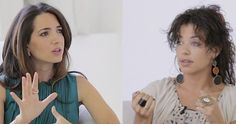 Marie Forleo on Marie TV chatting with her guest about how to reprogram your subconscious mind.