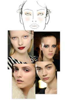 Beauty trends New York Fashion Week Fall Winter 2013 2014 backstage runway