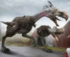 Bird Of Prey In Flight South America 36 Ideas Prehistoric World, Prehistoric Creatures, National Geographic, Arte Robot, Spinosaurus, Dinosaur Art, Extinct Animals, Weird Creatures, Wildlife Art