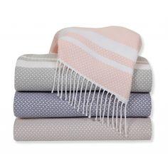 SFERRA Nia Throws wool/silk/cashmere