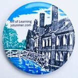 Hey Lovely! Pocket Mirror   JoT Shop - The online store for Jo Tunmer Queen's College, Magnetic Bottle Opener, Cambridge, Magnets, England, Pocket, Mirror, Learning, Store