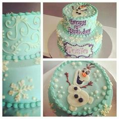 Disney's Frozen / Olaf (Cakes)