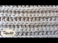 CLASE 2: Punto Bajo (SINGLE CROCHET) - Curso Básico de crochet para Principiantes - YouTube Tunisian Crochet, Crochet Motif, Crochet Lace, Crochet Stitches, Crochet Hooks, Knitting Designs, Knitting Patterns, Crochet Patterns, Ladder Stitch