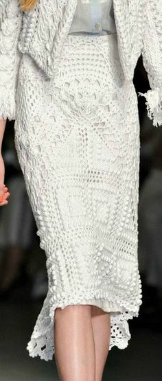 1b Вязание с подиума. No pattern.