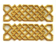 REPEAT PATTERN CELTIC GOLD