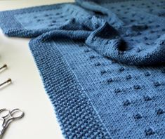 KNITTING PATTERN / Blanket / On the Map / Baby / Throw /