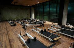 Pilates Reformer Beds Virgin Active Health Centre #emiliarossi #CollinsStreet #blog  #healthclub #VirginActiveHealthCentre #Activity #Healthy #relaxation #pilatesreformerbed #pilates