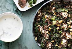 Lehtikaali-kvinoapilahvi   Koti ja keittiö