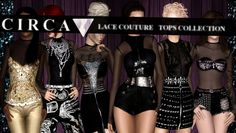 Lace Couture Tops Collection by Circa