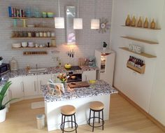 #miniature #kitchen #dollhouseminiatures #dollhouse #oneinchscale #handmade