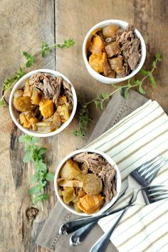 The crockpot is our not-so-secret weapon. We use it at least once a week, and it saves us time during the busy work week, so we can enjoy each other's company after work one night and have le…