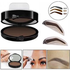 Back To Search Resultsbeauty & Health Diligent Natural Arched Eyebrow Stamp Eyes Brow Stamps Powder Palette Beauty Makeup Tool Seal Waterproof Professional Eyebrow Stencils Beauty Essentials