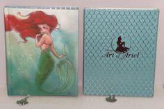 Disney Store Art Ariel Journal Diary The Little Mermaid New