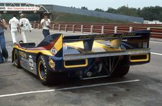 Can Am 1974. Mid Ohio , Porsche 917/30.