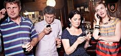 Is this you at a networking event...pretending to be on your phone? If so, read this.