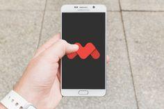 Galaxy Note 5 Mockup Vol.1  #mockupcatalog #free #graphicdesign…
