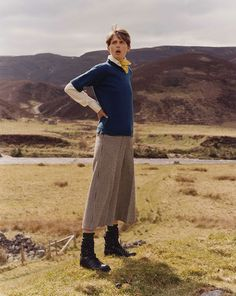 Menswear from Stella Tennant and Isabella Cawdor's Holland & Holland AW16 collection