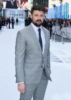 """Karl Urban attends the UK Premiere of Paramount Pictures """"Star Trek Beyond"""" at the Empire Leicester Square on July 12, 2016 in London, England. - 'Star Trek Beyond' UK Premiere"""