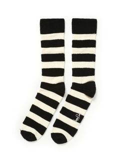 stripe socks.