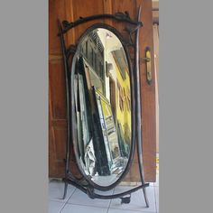 Wooden Frame Mirror Chaira MG 030007