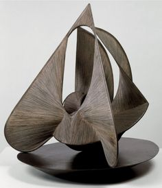 Monde, 1947. Anton Pevsner (1886-962) was a Belarusian sculptor and the older brother of Alexii Pevsner and Naum Gabo. Both Antoine and Naum are considered pioneers of twentieth-century sculpture.