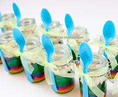 Craftibilities: TEACHER APPRECIATION idea PART 3 - CAKE IN A JAR!