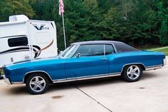 '71 Chevy Monte Carlo with the rare SS454 option.
