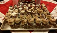 Mini Cupcakes, Sweet Recipes, Food And Drink, Pudding, Cooking, Party, Desserts, Sugar, Wedding