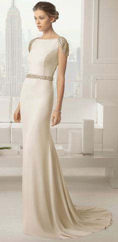 vestido de novia rosa clara, bridal dress rosa clara