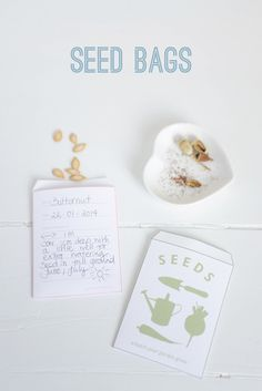 I always start to plan and gather seeds I want to sow in my garden in January so that I can jump start them in . Diy Paper, Paper Crafts, Seed Packets, Edible Garden, Cool Things To Make, Fundraising, Free Printables, Diy And Crafts, Saving Seeds