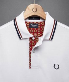 Fred Perry - Drake's Twin Tipped Shirt