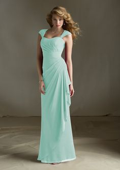 Bridesmaids Dresses Style #683. Fabric: Chiffon. Sizes Available: 2-28.