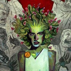 Rich Pellegrino Art and Illustration  young adult Medusa book