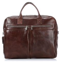 0849d06fc125 Leather business bag by Chiarugi Laptop bag Handmade in Italy Businessmode,  Herremode