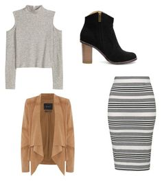 Untitled #116 by liveliveawkwardly6 on Polyvore featuring polyvore, fashion, style, Oui, Topshop and clothing