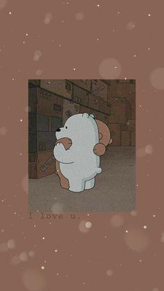 Cute Panda Wallpaper, Cartoon Wallpaper Iphone, Iphone Wallpaper Tumblr Aesthetic, Cute Patterns Wallpaper, Bear Wallpaper, Iphone Background Wallpaper, Cute Disney Wallpaper, Galaxy Wallpaper, We Bare Bears Wallpapers