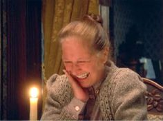 Marilla is played by the amazing Colleen Dewhurst in Anne of Green Gables - she has the best laugh of anyone I've ever heard!!!!