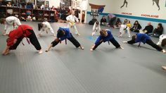 Belt Testing from 1/8/16 #martialarts #promartialarts #karate #kids #exercise #activities #kids #students #stretches
