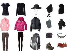 south america packing list trekking
