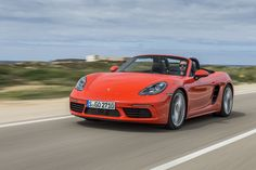 Porsche 718 Boxster S: wennen aan de viercilinder - http://www.topgear.nl/autotests/porsche-718-boxster-s-test-2016/