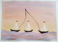 Watercolor, gouache painting
