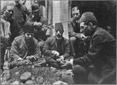 Turkish Opium Inspectors, Ottoman Empire 1907.